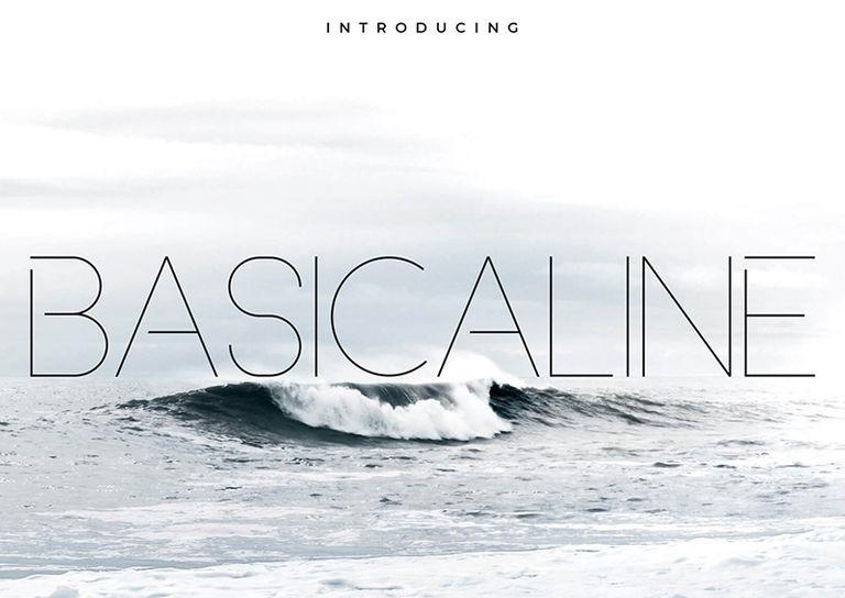 Basicaline Font Family – Sans Serif Font