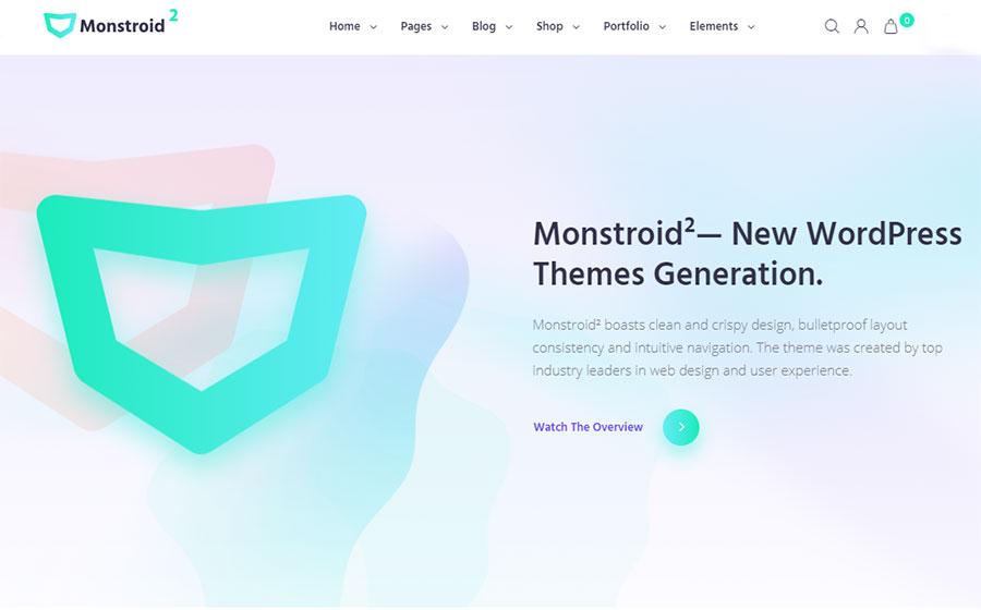 Monstroid 2 – Template Monster