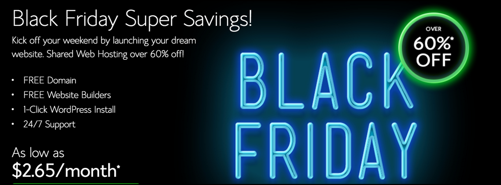 Bluehost Black Friday
