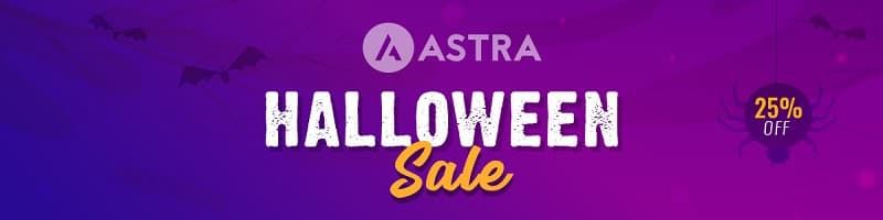Astra Halloween Sale - Over Now