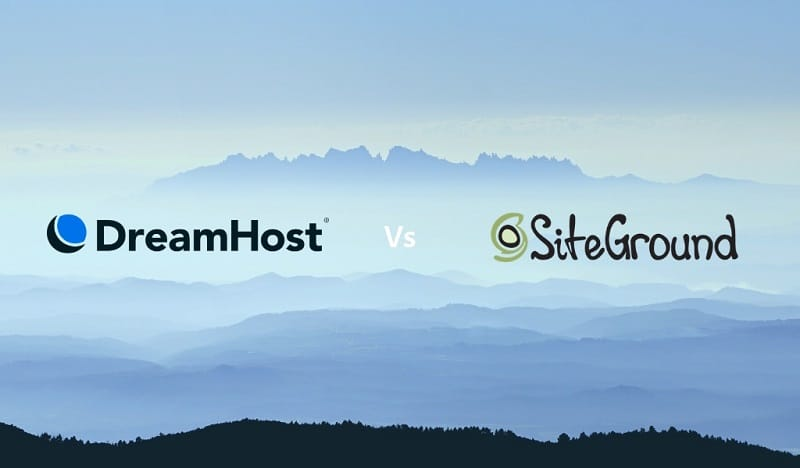 Dreamhost vs Siteground