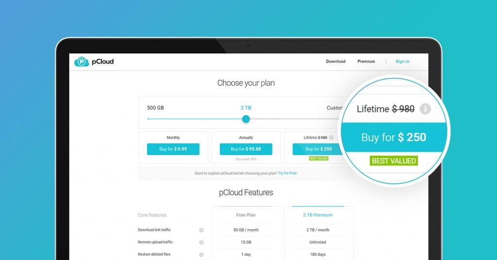pCloud Coupon, Lifetime Discount & Promo Code