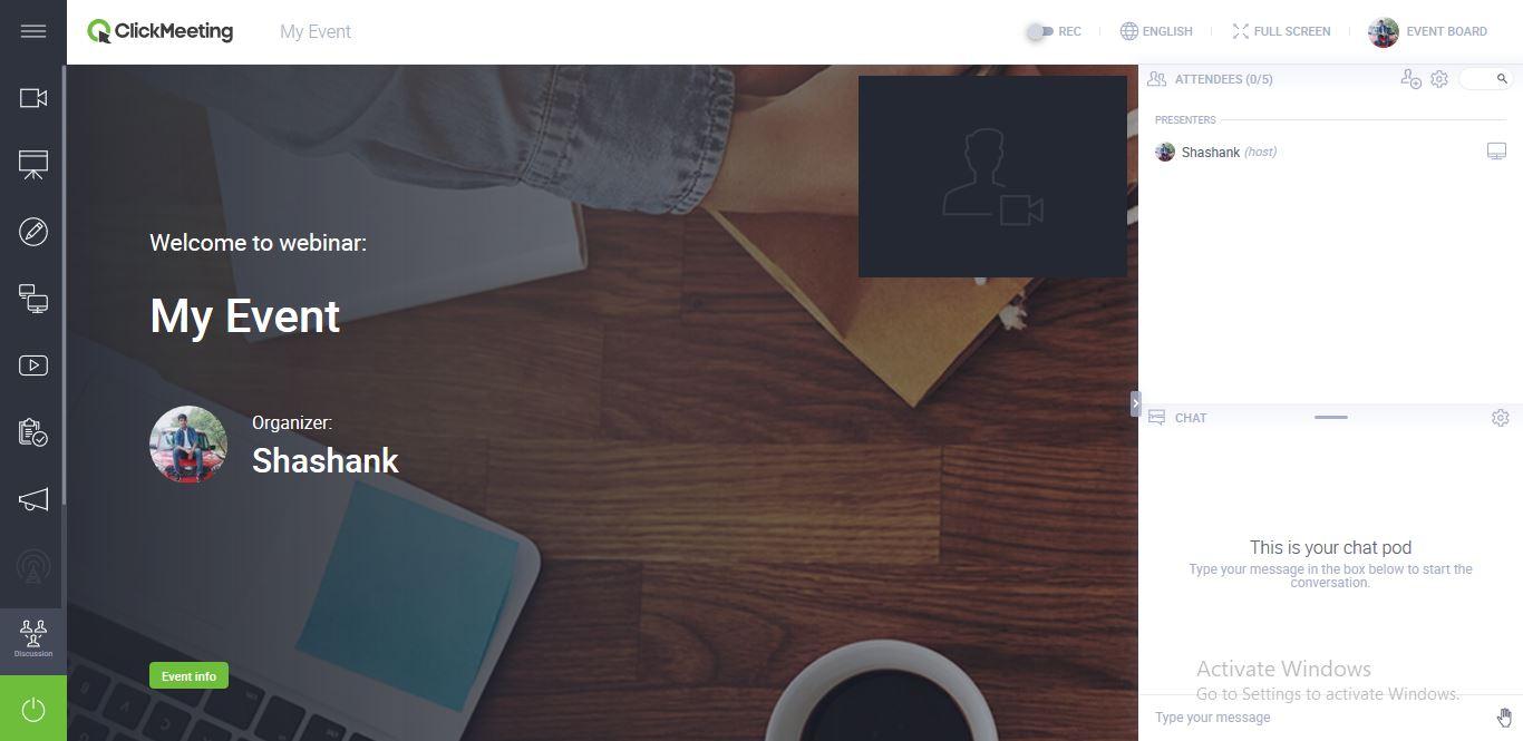 Webinar UI