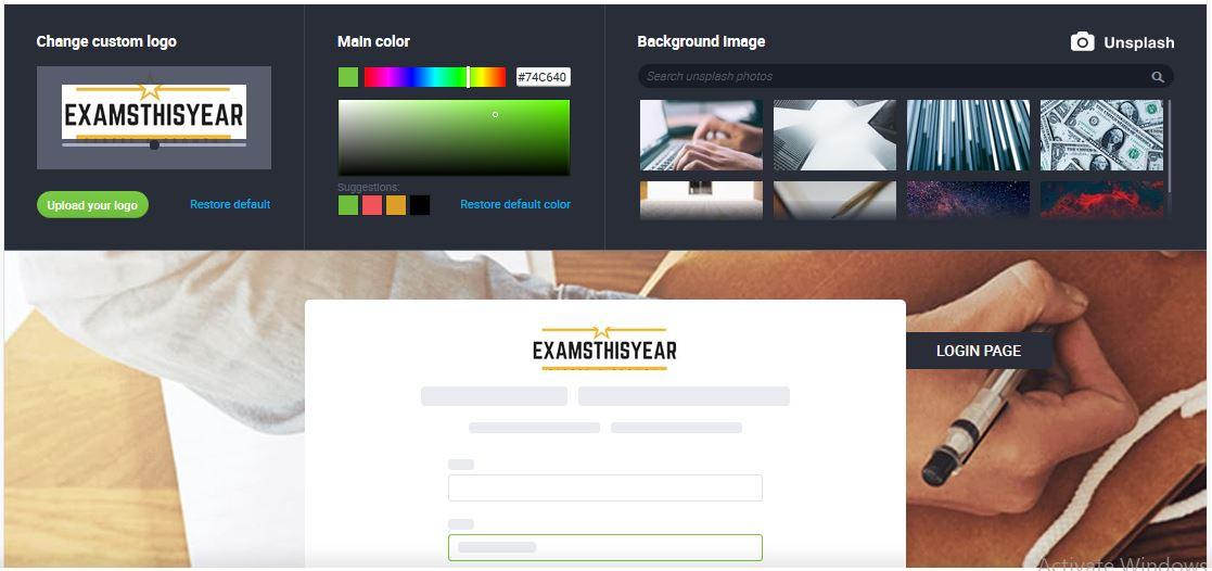 Custom Branding in Webinars