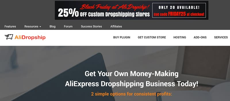 AliDropShip Black Friday Sale - Upto 35% Discount