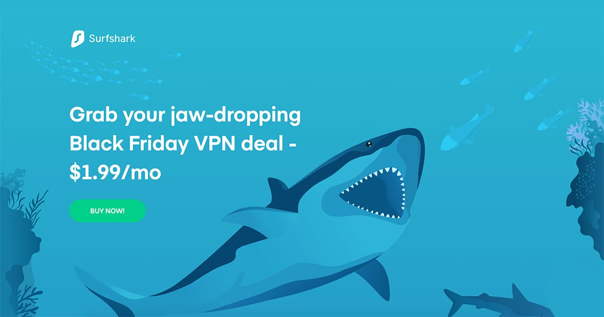 Surfshark Discount & Sale - 83% Discount + Free 3 Months