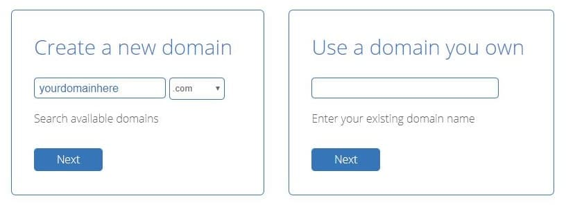 Select Your Free Domain