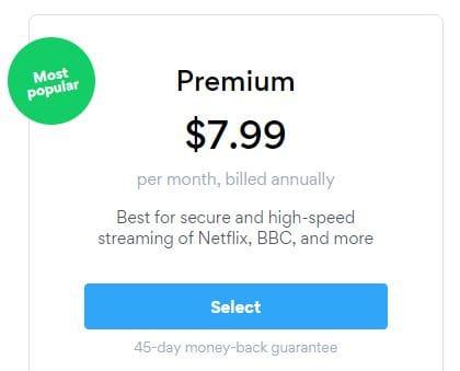 Normal Price for Hotspot Shield VPN