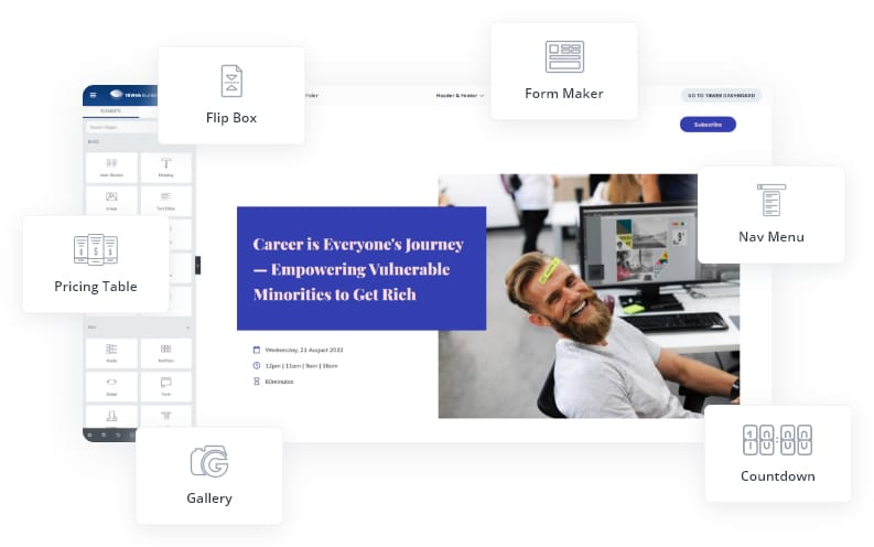 In-Built Page Builder