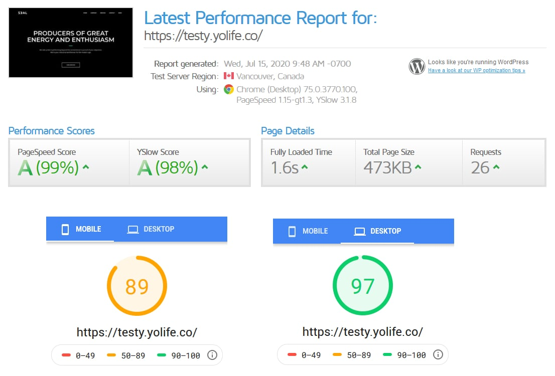 WordPress Speed Optimization Guide: Finally a Good Score!